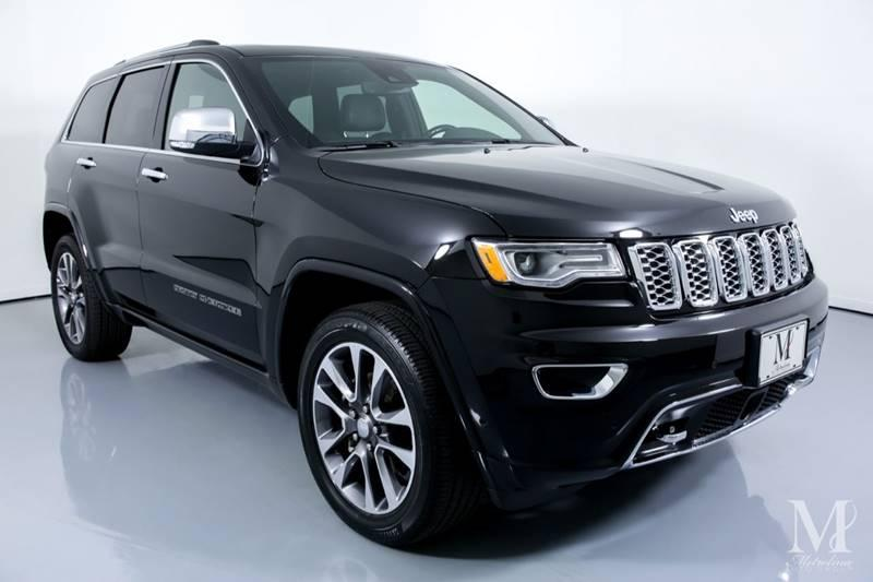 Used 2018 Jeep Grand Cherokee Overland 4x4 4dr SUV for sale Sold at Metrolina Auto Group in Charlotte NC 28217 - 2