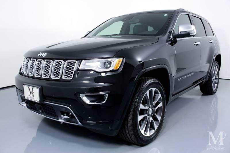 Used 2018 Jeep Grand Cherokee Overland 4x4 4dr SUV for sale Sold at Metrolina Auto Group in Charlotte NC 28217 - 4