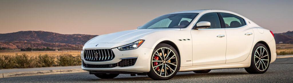 2020 Maserati Ghibli White