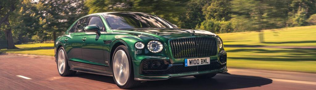 Bentley Flying Spur Green