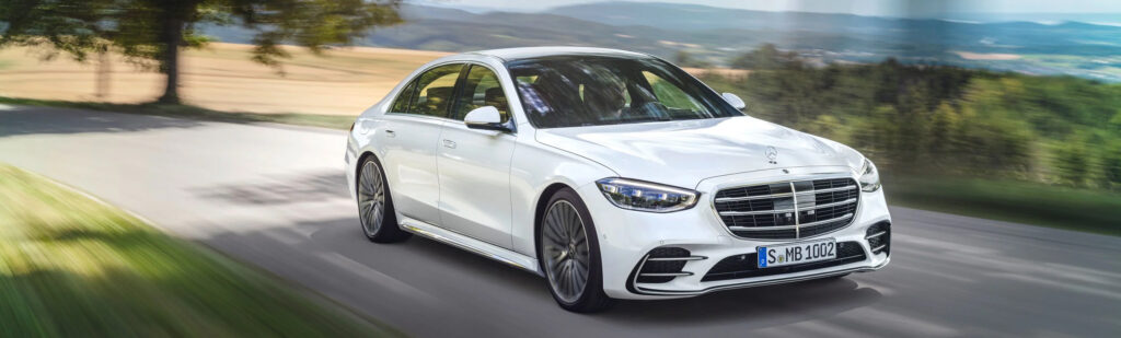 Mercedes-Benz S-Class White